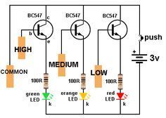 me ~ 101 - 200 Transistor Circuits Electronics Mini Projects, Electronic Circuit Projects, Electronic Kits, Electronic Schematics, Hobby Electronics, Electrical Projects, Electronics Components, Electrical Engineering, Electrical Wiring