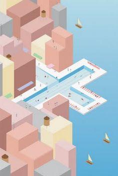 Open air swimming pool - Urban Design Brazil