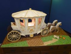 """""""A Ride for Cinderella"""" by Cheryl B. (Most Creative) :: look at the upholstery, inside!"""