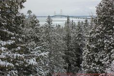 """MightyMac.org - The Mackinac Bridge shared Mackinac Straits Photography Gallery's photo. Taken last winter, the Mackinac Bridge after a fresh snowfall. It feels like someone turned on the switch to """"Winter Mode"""" this past weekend, & we're in the winter wonderland now for the next few months. Taken last winter, the Mackinac Bridge after a fresh snowfall. It feels like someone turned on the switch to """"Winter Mode"""" this past weekend, & we're in the winter wonderland now for the next few months."""