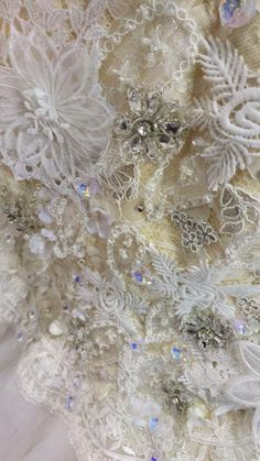 Embroidery and embellishment detailing