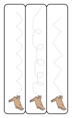 Marking is an excellent way for your three year old to begin the process of writing. Draw some squiggly lines on paper, laminate them and get your child to copy them over and over until they can do it, them make some more