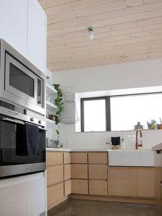 Blue Heron EcoHaus kitchen.