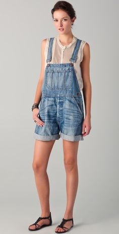 I adore overalls for spring. $330 from NSF Sky