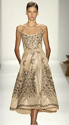 I love the classic vintage look.  Oscar de la Renta