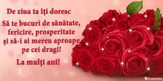 Imagini pentru felicitari zi de nastere Happy Birthday Wishes Cards, Funny Birthday Cards, La Multi Ani Gif, Happy Birthday In Spanish, Quotes About New Year, 8th Of March, Floral Wreath, Projects To Try, Birthdays