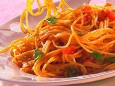 Spaghetti Sauce Tomate, 20 Min, Favorite Recipes, Ethnic Recipes, Food, Parmesan, Children's Cooking Classes, Tomatoes, Essen