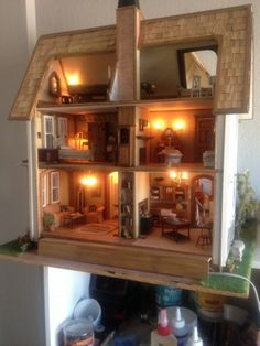 Jenn's Mini Worlds' Greenleaf Fairfield Doll House