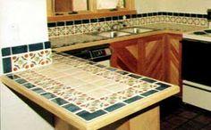 ceramic tile countertops