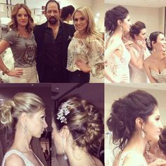 #lazarofashionshow #bridalexpo2016 #chicago #chicagomarriottohare #hairbyme #makeup by @hannahelisabethbeauty thanks to some amazing girls who came to our rescue! #Thankyou @daniellleleong @oh_em & @jessegoddard you guys are #soamazing #loveyou #lovemyjob #lovemyclients #bridalhair #romantichair #promhair #number4haircare #oribe #bridalfashion #bohobride #amazingdesigner @lazarobridal it was an honor working for you today!! Xoxo by studiodreamordye