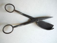 Antique H.Boker & Co Iron Scissors Candle Wick Trimmer