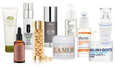 An  overview of anti-aging skin care including descriptions, key ingredients, and product recommendations for prevention, hydration, exfoliation, lightening, and repair.