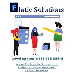 Level up your WEBSITE DESIGN! #flaticsolutions #website #webdesign #websitedesign #newswebsite #business #smallbusiness #level #branding #brand www.flaticsolutions.com info@flaticsolutions.com +91 9999689589 Best Web Development Company, News Website, Level Up, Digital Marketing, Web Design, Branding, Business, Projects, Log Projects