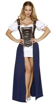 Hot Sell Sexy Medieval Tavern Wench Beer Maid Oktoberfest Halloween Costume-in Costumes & Accessories from Novelty & Special Use on Aliexpress.com | Alibaba Group