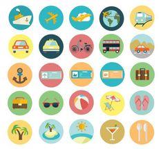 10 Free Stunning Summer Icon Set