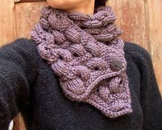 Krtek Scarf By Orlane - Free Knitted Pattern - (ravelry)