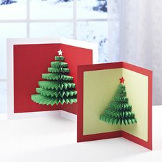 Concertina Tree Cards | Craft Ideas & Inspirational Projects | Hobbycraft