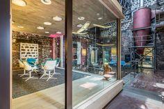 Neudoerfler Showroom, Salzburg Stylish Office, Salzburg, Offices, Showroom, Vanity, Mirror, Inspiration, Furniture, Beautiful