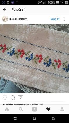 Cross Stitch Borders, Cross Stitch Rose, Cross Stitch Patterns, Embroidery Stitches, Hand Embroidery, Baby Shower Niño, Bargello, Diy And Crafts, Lily