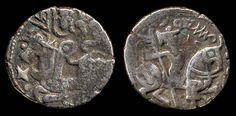 Mas'ud I, 1031-1041, silver jital