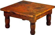 Wood color - copper ! (coffee table)