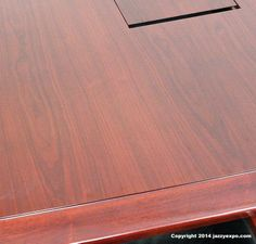 The Baltimore Boardroom Table close up to see how beautiful the wood grain is. Conference Table, Walnut Wood, How Beautiful, Wood Grain, Baltimore, Modern, Trendy Tree