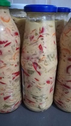 Canning Pickles, Tasty, Yummy Food, Canning Recipes, Fresh Rolls, Different Recipes, Nutella, Cookie Recipes, Mason Jars