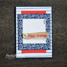 The Stamping Blok: TGIF Challenges #62 - Stampin' Up! Floral Boutique - Rochelle Blok