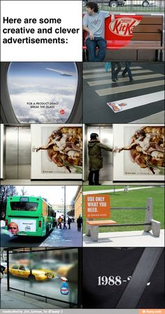 Creative and clever ads