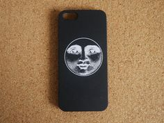 Black and White iPhone 6 Case iphone 6 plus case Moon by QuoteARTS
