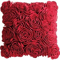 I could go crazy with red!! And roses! but then all the purple I already own would be wasted. lol Thankfully the green will go with either!