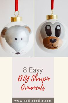 Start thinking about great DIY Christmas gifts for your friends and family! These adorable woodland animal Sharpie ornaments made with Sharpies are the perfect place to start. Great for the kids to help too. #Crafts #Christmasgifts #Kids #DIY #Ornaments Christmas Gift For You, Christmas Diy, Christmas Ornaments, Diy Ornaments, How To Make Ornaments, Sharpies, Kids Diy, You Are Awesome, Woodland Animals