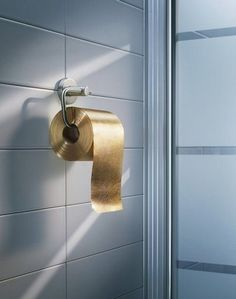 Most Expensive Toilet Paper in the World. Australian company Toilet Paper Man  produced a 3-ply roll paper made from 22-carat gold flakes through the roll. The company said it's '100% usable and safe'.  Along with the purchase, the roll comes with a bottle of champagne, according to the news site International Business Times.