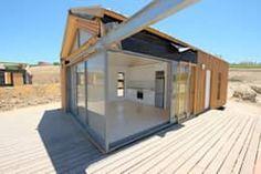 skandinavische Häuser von Greenpods