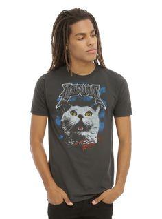 <p>Best. Tour. Ever.</p>  <p>Charcoal grey T-shirt with LOLWUT Tour 99 artwork featuring a cat face.</p>  <ul> <li>100% cotton</li> <li>Wash cold; dry low</li> <li>Imported</li> <li>Listed in men's sizes</li> </ul>