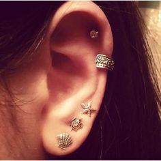 piercing orelha helix - Pesquisa Google