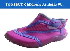 TOOSBUY Childrens Athletic Water Shoes/Aqua Socks (Toddler/Little Kid). The brand is using imported sandwich mesh fabric, the bottom is soft TPR (shock proof).Soles can be bent, curled, wear-resistant slip.People can wear it to go skiing, hiking, beach playing playing, dancing, running and so on.You deserve to get.