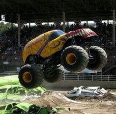 Wild Thang Monster Jam, Monster Trucks, Hot Wheels, Diecast, Monsters, Rock, Metal, School, Classic