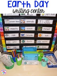 earth day centers and activities free earth day vocab posters preschool poster and kindergarten