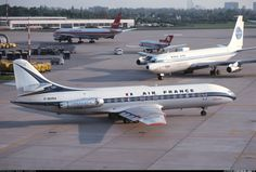 Air France Sud SE-210 Caravelle III aircraft picture