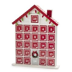 Holiday House Advent Calendar, available at Wooden House Advent Calendar, Advent House, Advent Calendar Gifts, Advent Calendars, Christmas Home, Christmas Holidays, Christmas Stuff, Christmas Window Decorations, Wood Home Decor