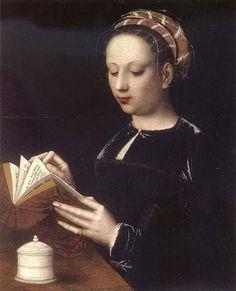 Mary Magdalene Reading - Ambrosius Benson (c. 1495-1550)