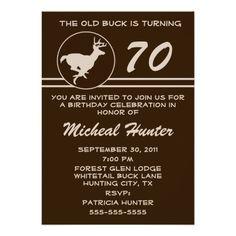Hunting Funny Buck Animal Camo Happy Birthday 3 Card Zazzlecom