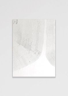 Wall of Art - Konstnärligt Art Print av Ida Vikfors - Mönster Plaster Art, Texture Art, Art Object, Large Art, Pottery Art, Creative Inspiration, Diy Art, Art Inspo, Art Projects