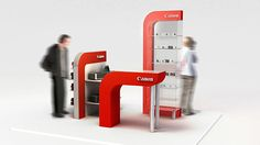 Canon: Point of Purchase on Behance Canon, Point Of Purchase, Environment, Behance, Display, Design, Stand Design, Point Of Sale, Products