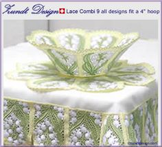 Lily of the Valley  http://www.zundtdesign.com/embroidery-designs/lacecombi_bowl.html