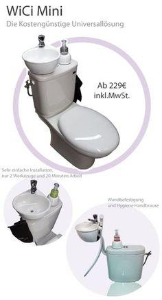e152022dc3705 WiCi Mini   ein kleines Handwaschbecken zum kleinen Preis