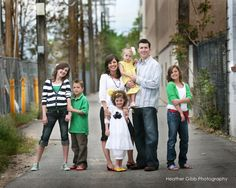 Background plays a vital role in family portraits. How you do find a good one that suits your family?