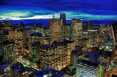 Vancouver Vancouver Photography, Western Canada, O Canada, Blue Hour, Whistler, British Columbia, The Neighbourhood, Places To Go, My Photos