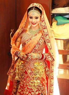 Aamna Sharif #Wedding #Saree.